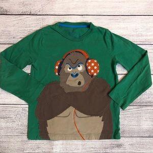 Mini Boden Gorilla Shirt